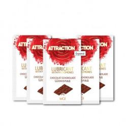 Пробник лубриканта с феромонами MAI ATTRACTION LUBS CHOCOLATE (10 мл)