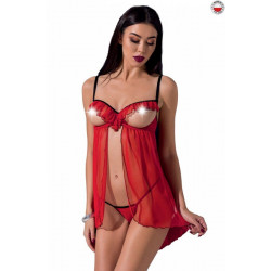 CHERRY CHEMISE red L/XL - Passion Exclusive