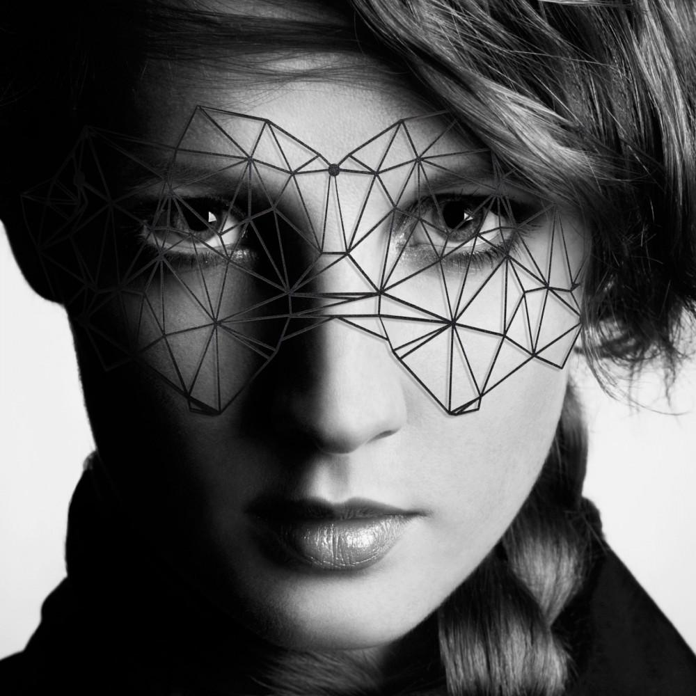 Аксессуары для эротического образа - Маска Bijoux Indiscrets - Kristine Mask 1