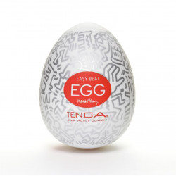 Мастурбатор Tenga Keith Haring EGG Party