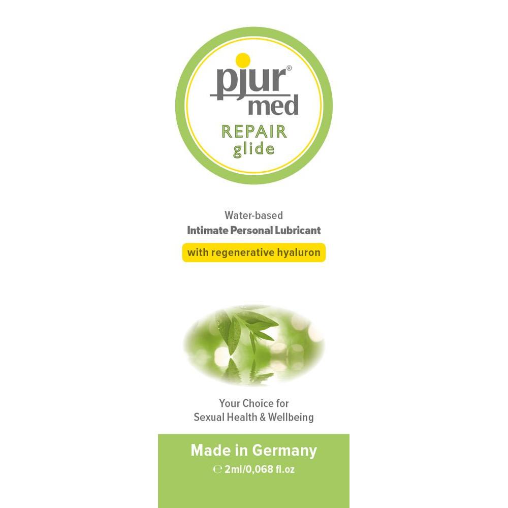 Смазка на водной основе - Пробник pjur MED Repair glide 2 ml
