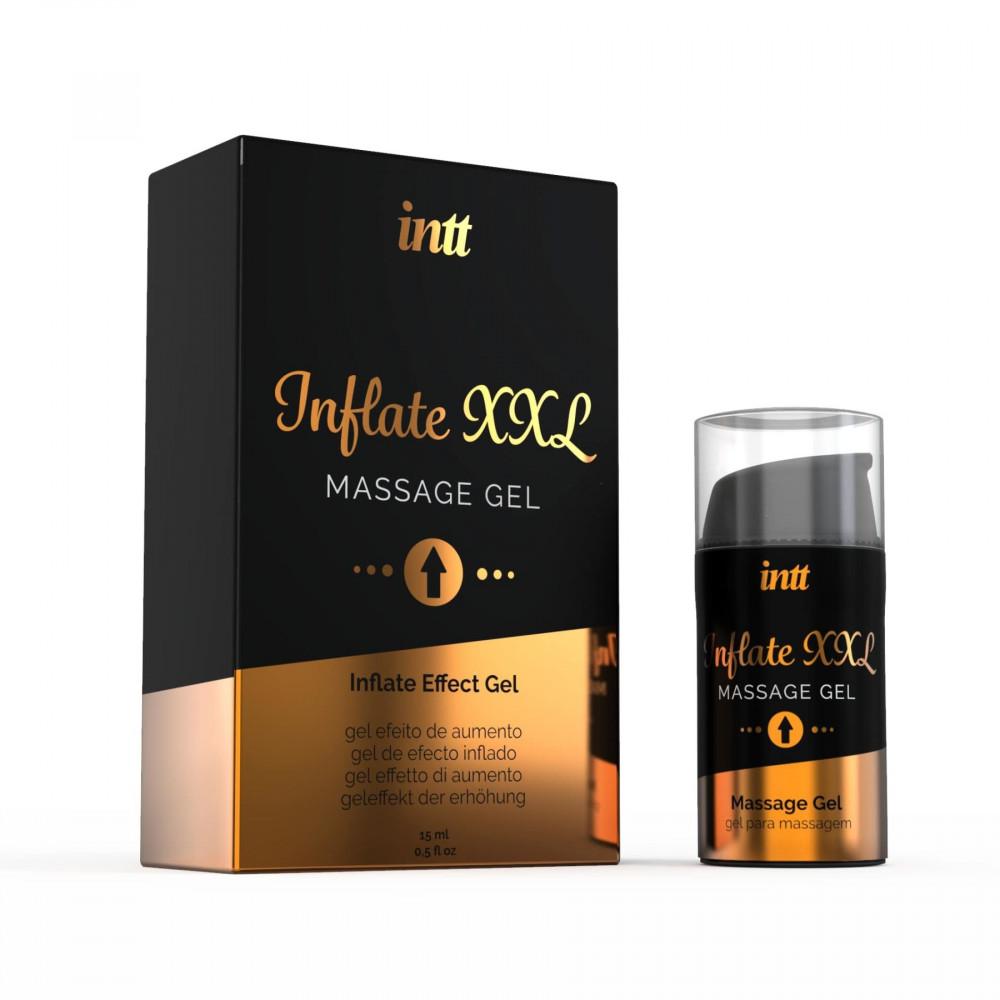 Мужские возбудители - Гель для увеличения члена Intt Inflate XXL (15 мл)