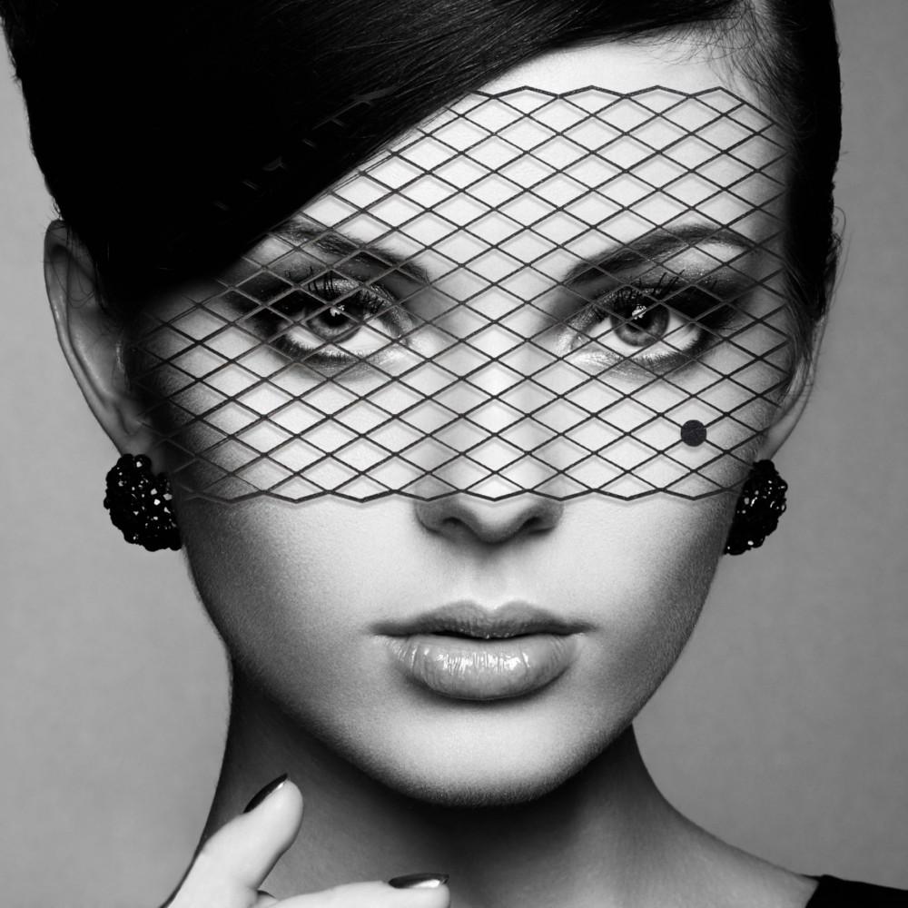 Маска для БДСМ - Маска Bijoux Indiscrets - Louise Mask 1