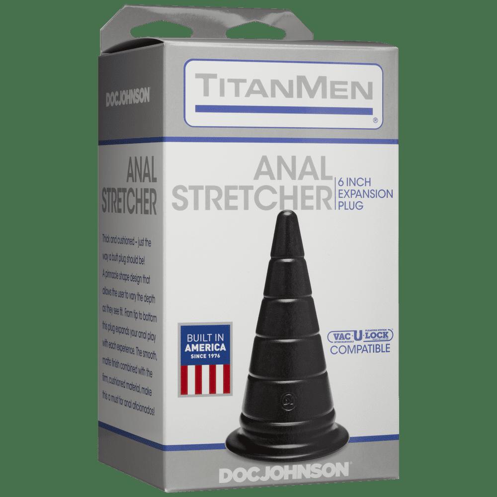 Массажёры простаты без вибрации - Анальный стимулятор Doc Johnson TitanMen - Anal Stretcher 6 Inch Plug 1