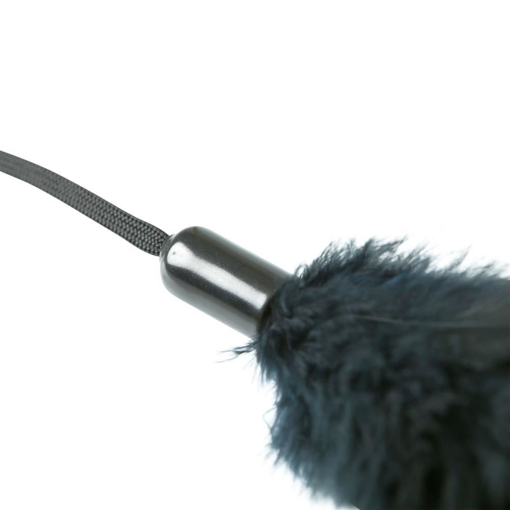 БДСМ плети, шлепалки, метелочки - Метелочка Sportsheets - PLEASURE FEATHER BLACK 2