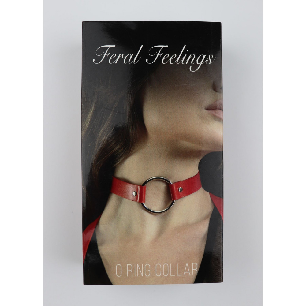 Чокер - Чокер с кольцом Feral Fillings - O-Ring Collar красный