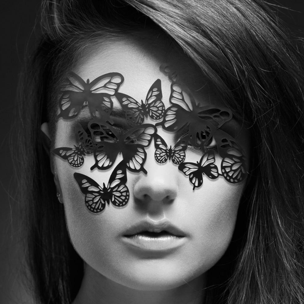 Аксессуары для эротического образа - Маска Bijoux Indiscrets - Sybille Mask 1