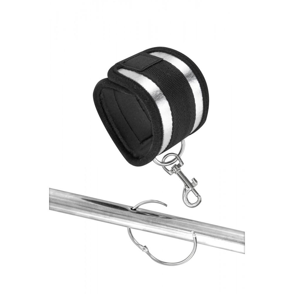 БДСМ наручники - Фиксатор для рук и ног Fetish Tentation Submission bar with 4 cuffs 1