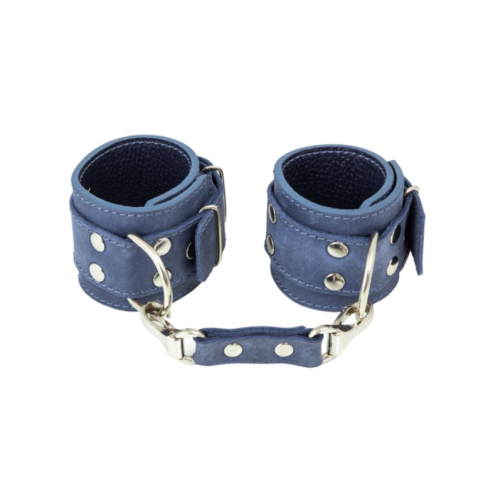 БДСМ наручники - Наручники LOVECRAFT голубые