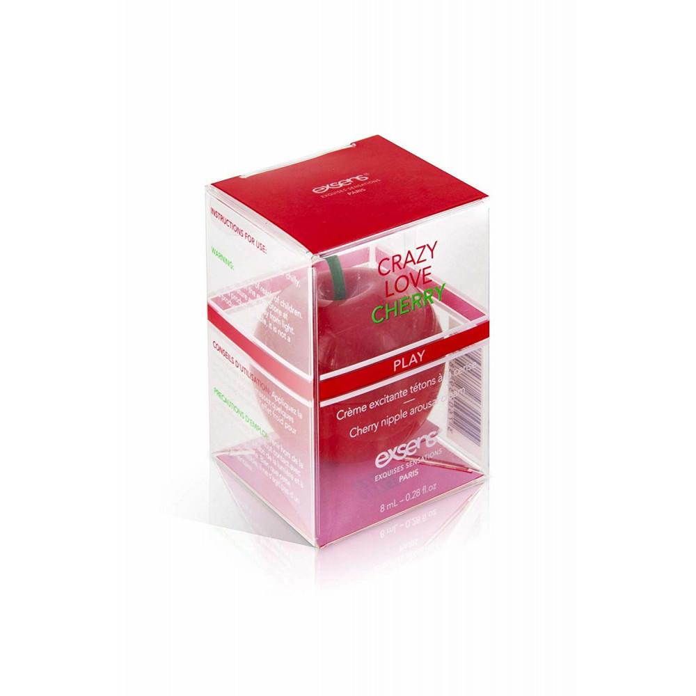 Стимулирующие средства и пролонгаторы - Возбуждающий крем для сосков EXSENS Crazy Love Cherry 8 мл 1