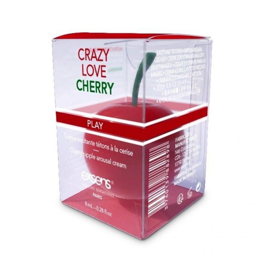 Стимулирующие средства и пролонгаторы - Возбуждающий крем для сосков EXSENS Crazy Love Cherry 8 мл