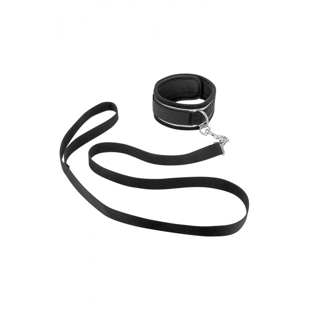 БДСМ наручники - Фиксатор для рук и шеи с поводком Fetish Tentation Submission bar with handcuffs and collar 1