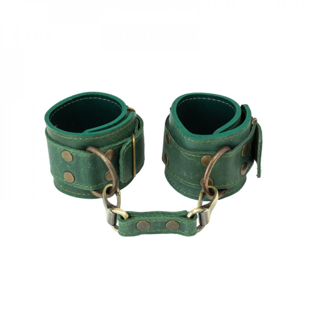 БДСМ наручники - Наручники LOVECRAFT зеленые