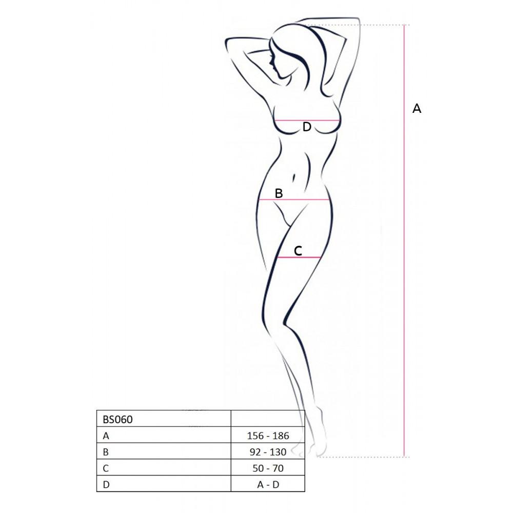 Эротическое боди - Бодистокинг BS060 red 2