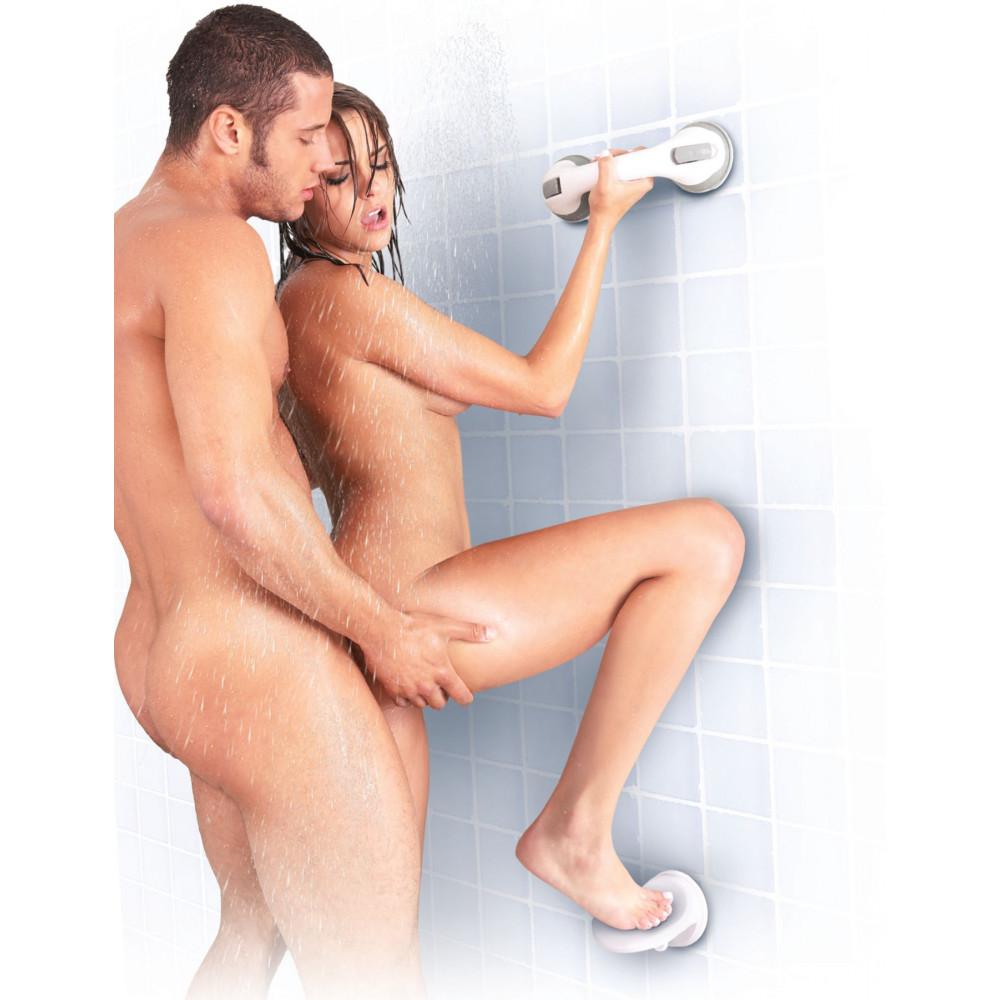 БДСМ игрушки - Опора для ноги для душа Sportsheets Single Locking Suction Foot Rest 2
