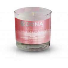 Массажная свеча DONA Scented Massage Candle Blushing Berry FLIRTY (135 гр)