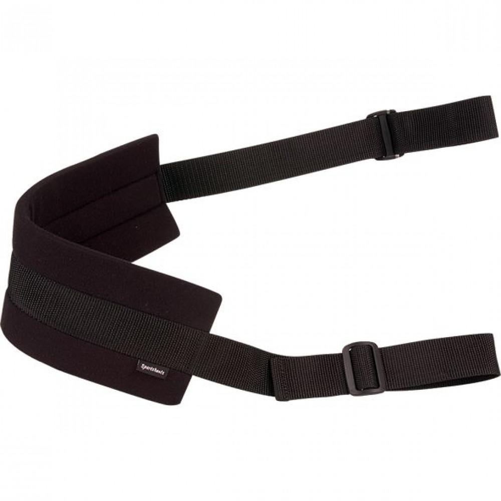 БДСМ наручники - Ремень Sportsheets Doggie Style Strap Black