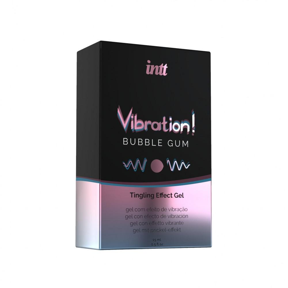 Жидкий вибратор - Жидкий вибратор Intt Vibration Bubble Gum (15 мл) 2