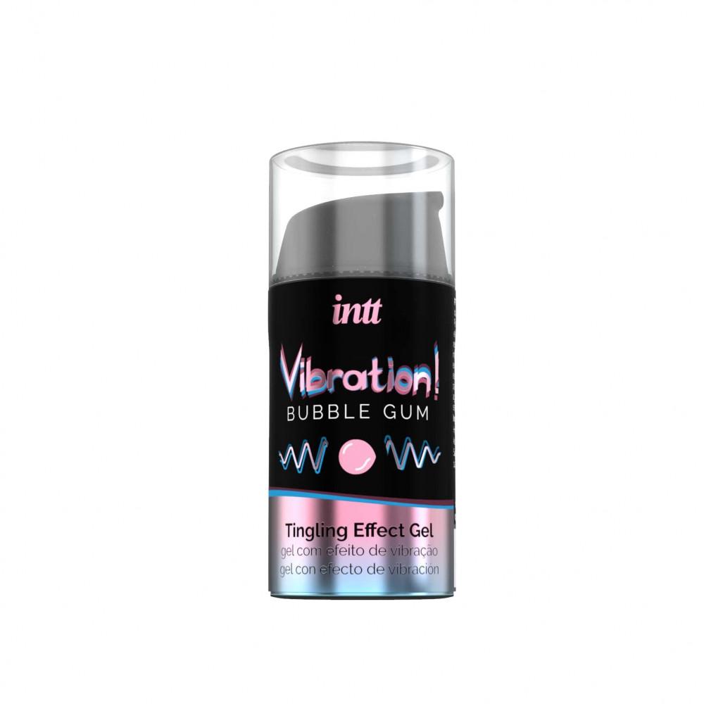 Жидкий вибратор - Жидкий вибратор Intt Vibration Bubble Gum (15 мл) 1