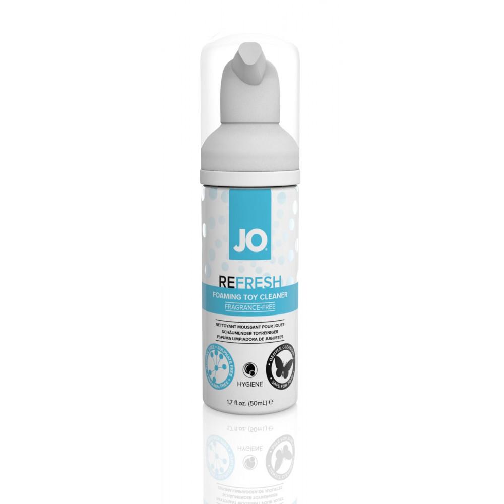 Средства по уходу за секс игрушками - Мягкая пенка для очистки игрушек System JO REFRESH (50 мл)