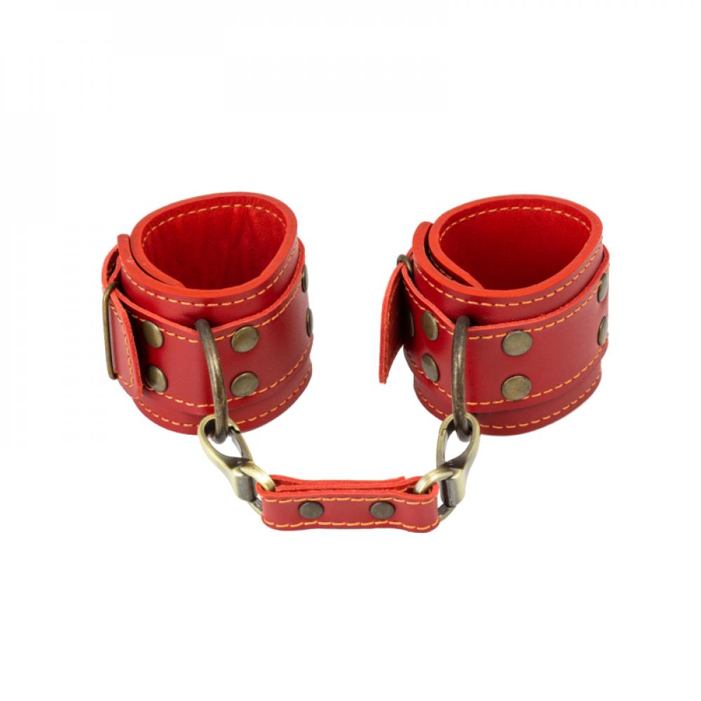БДСМ наручники - Наручники LOVECRAFT красные