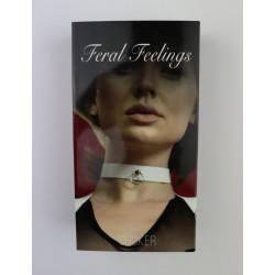 Чокер с колечком Feral Fillings - Choker белый