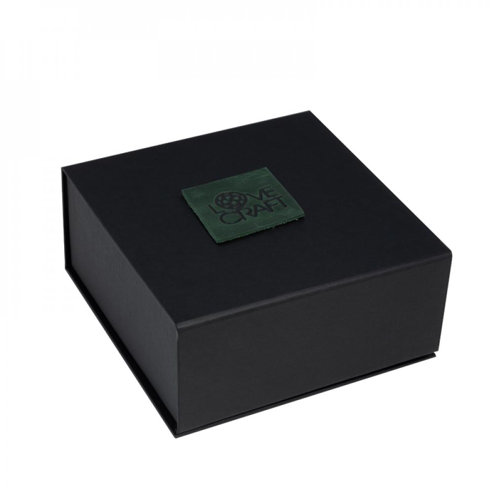 БДСМ ошейники - Ошейник LOVECRAFT размер M зеленый 3