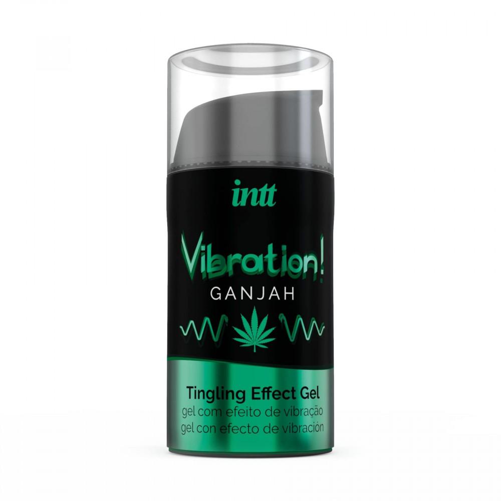 Жидкий вибратор - Жидкий вибратор Intt Vibration Ganjah (15 мл) 1