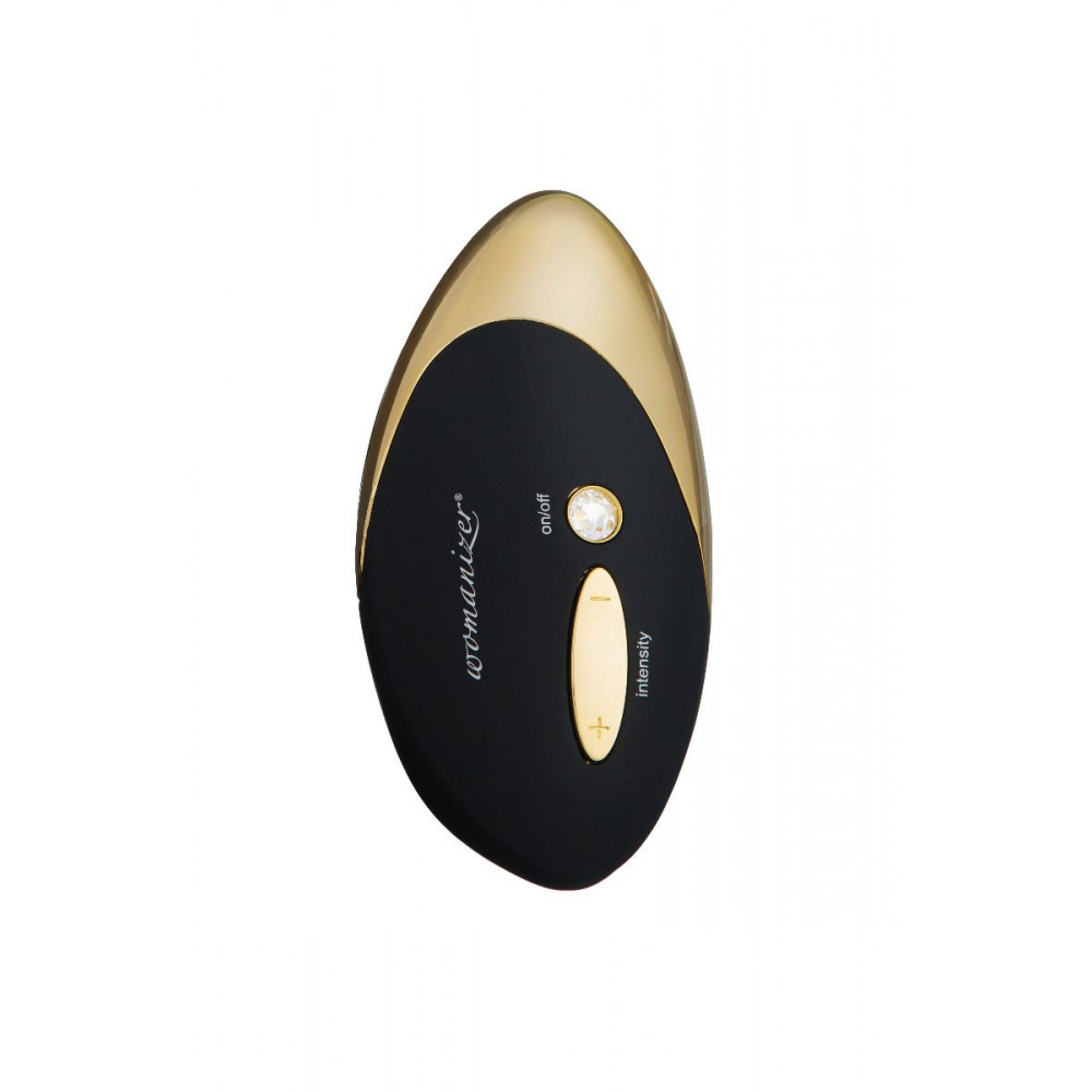 Клиторальный вибратор - Вакуумный клиторальный стимулятор Womanizer W500, золото 5