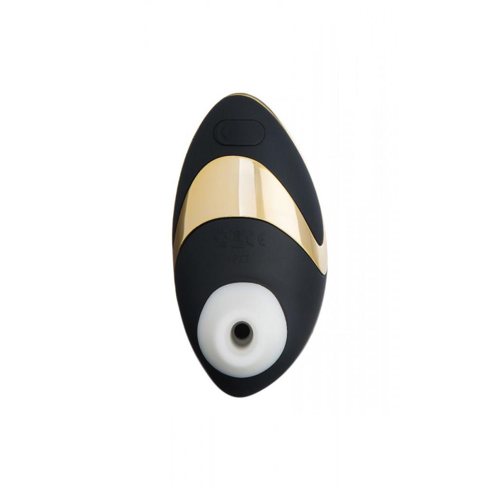 Клиторальный вибратор - Вакуумный клиторальный стимулятор Womanizer W500, золото 4