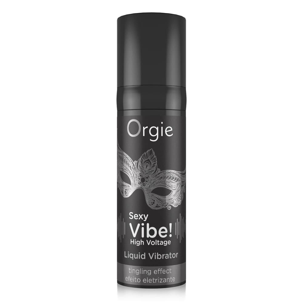 Жидкий вибратор - Жидкий вибратор Orgie Sexy Vibe! HIGH VOLTAGE 1