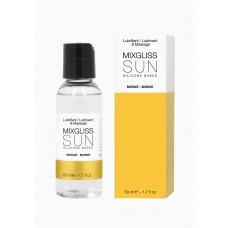 Лубрикант на силиконовой основе MixGliss SUN MONOI (50 мл)