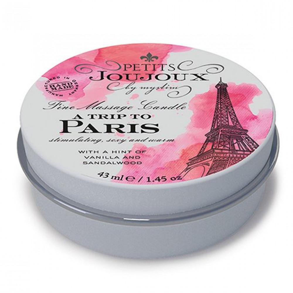 Массажные свечи - Массажная свечa Petits Joujoux - Paris - Vanilla and Sandalwood (43 мл)
