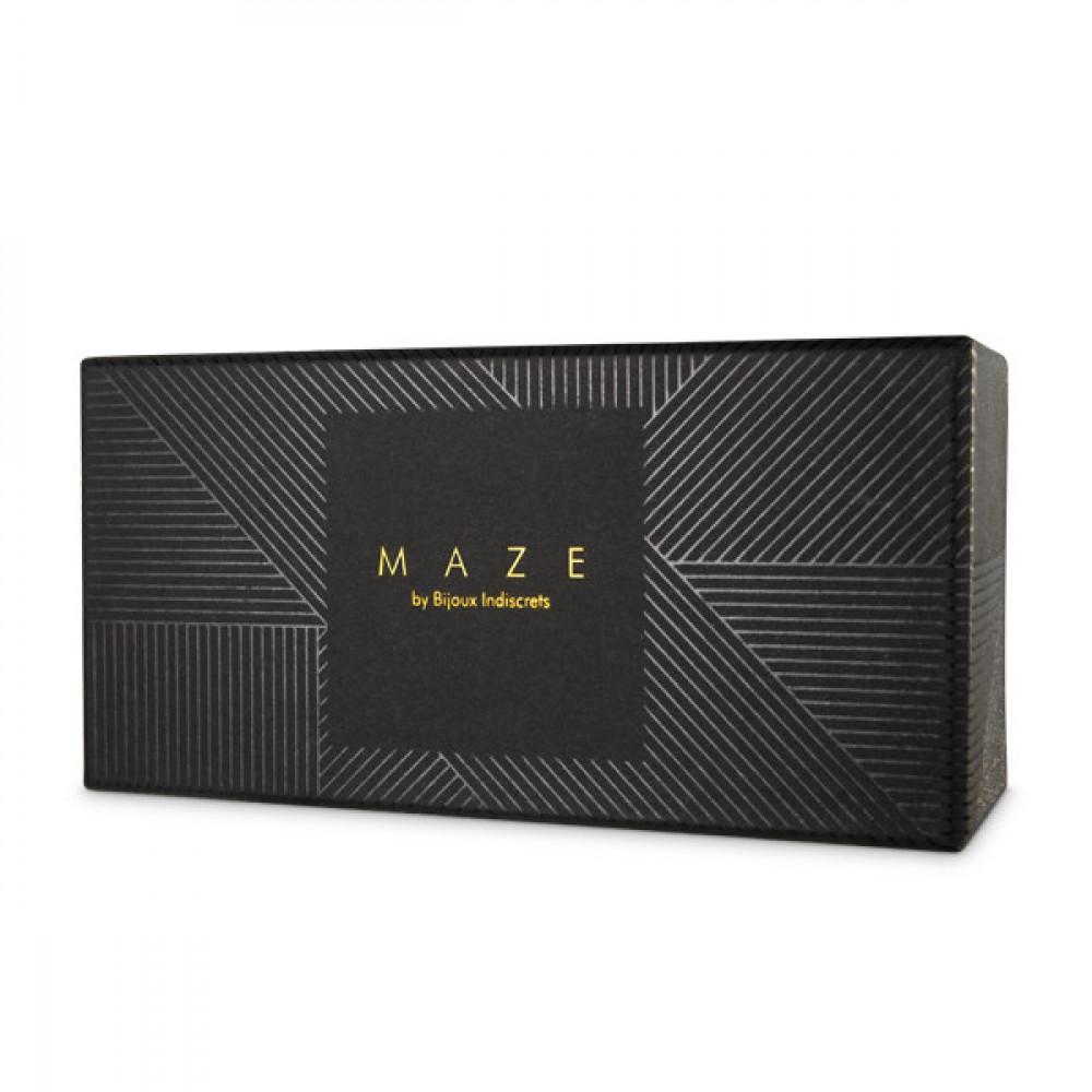 БДСМ наручники - Узкие наручники MAZE Bijoux Indiscrets,  коричневые 2