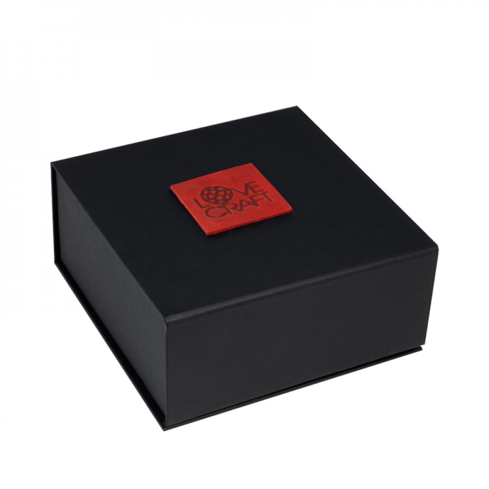 БДСМ ошейники - Ошейник LOVECRAFT размер M красный 3