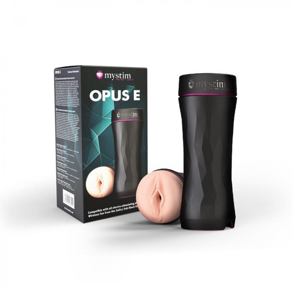 Мастурбатор - Мастурбатор для электростимуляции Mystim Opus E Vagina 4