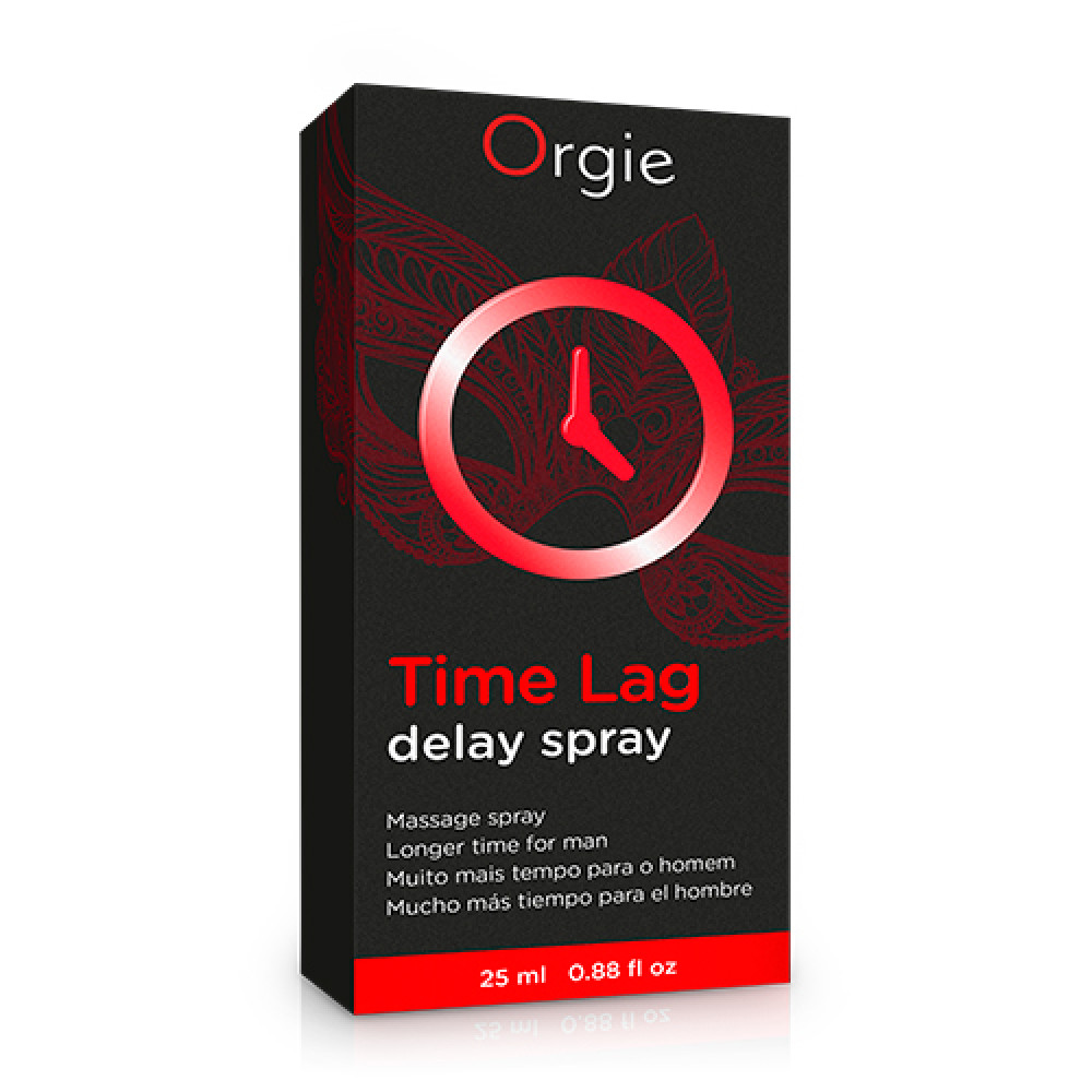 Стимулирующие средства и пролонгаторы - Спрей пролонгатор для мужчин  Time Lag  Orgie (Бразилия-Португалия)