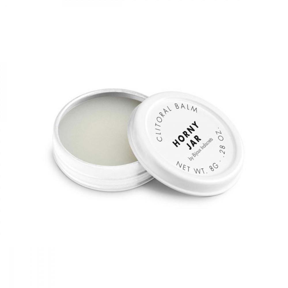 Жидкий вибратор - Бальзам для клитора  Clitherapy: HORNY JAR  аромат сандала Bijoux Indiscrets (Испания) 3