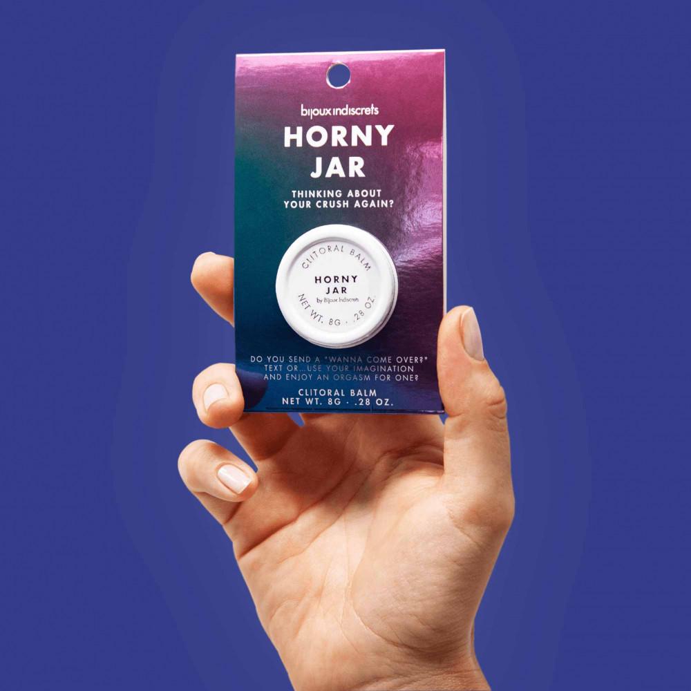 Жидкий вибратор - Бальзам для клитора  Clitherapy: HORNY JAR  аромат сандала Bijoux Indiscrets (Испания)