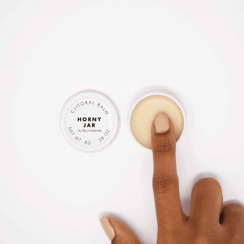 Жидкий вибратор - Бальзам для клитора  Clitherapy: HORNY JAR  аромат сандала Bijoux Indiscrets (Испания) 1
