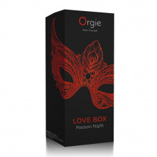 Набор эротической косметики  LOVE BOX PASSION NIGHT   Orgie