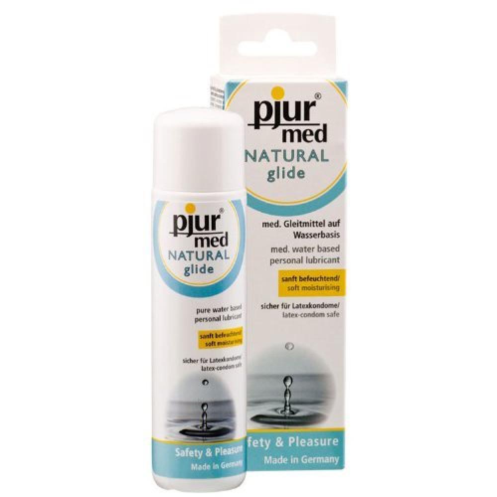 Смазка на водной основе - Лубрикант Pjur Med Natural Glide, 100 мл