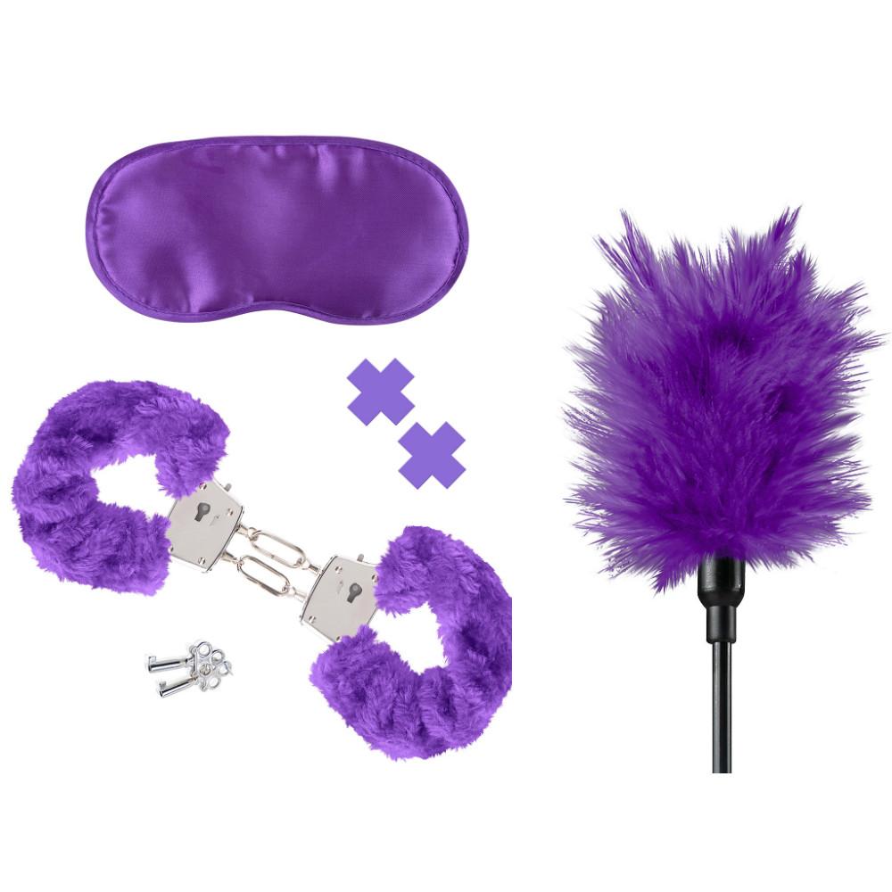 Наборы для БДСМ - Набор Fetish Fantasy Purple Passion Kit