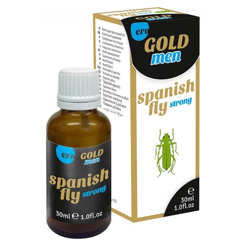 Возбуждающие капли - Возбуждающие капли для мужчин Spanish Fly Gold, 30 мл