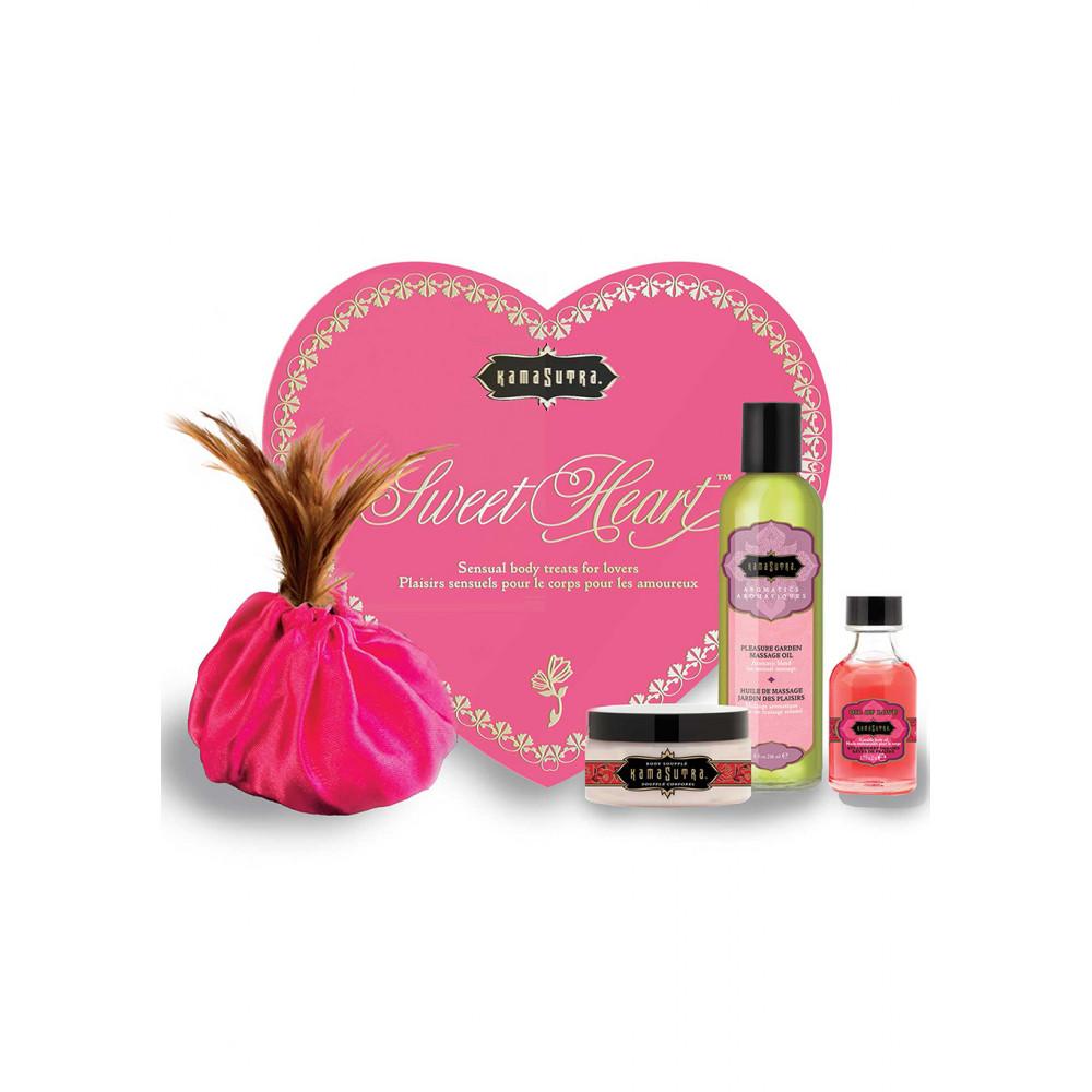 Подарочные наборы - Подарочный набор чувственной косметики для тела Sweet Heart Kit