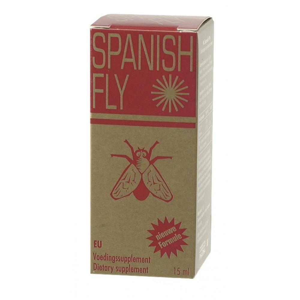 Возбуждающие капли - Капли обоюдного возбуждения Spanish Fly, 15 мл