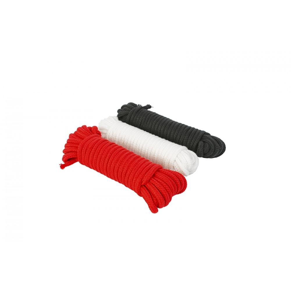 БДСМ наручники - Веревка для фиксации, черная
