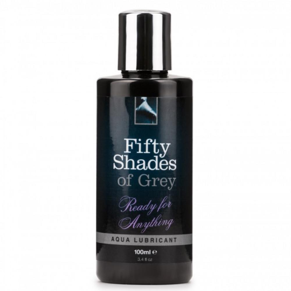 50 оттенков серого - Универсальный интимный лубрикант Fifty Shades of Grey, Ready for Anything, 100 мл