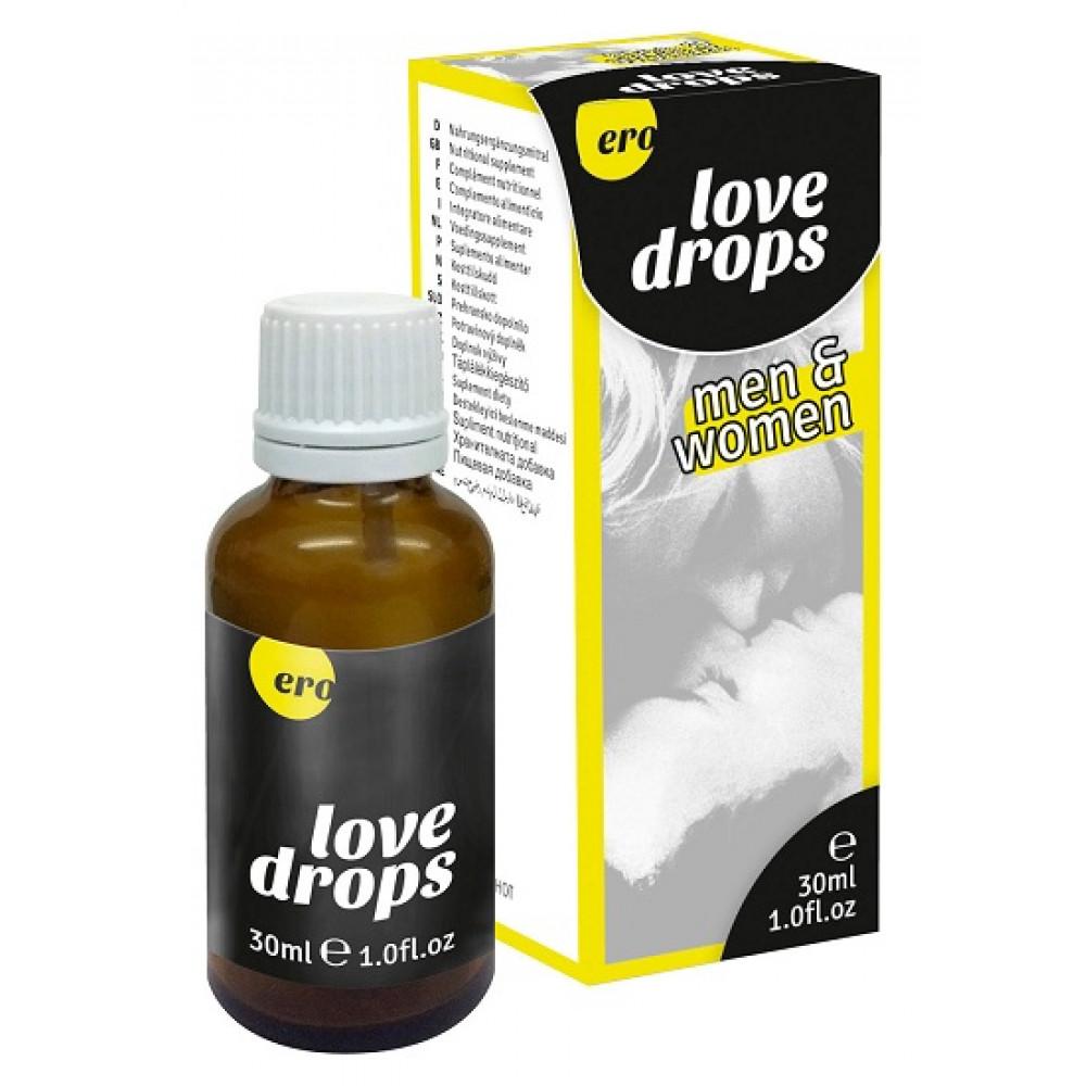 Возбуждающие капли - Возбуждающие капли унисекс Love Drops, 30 мл