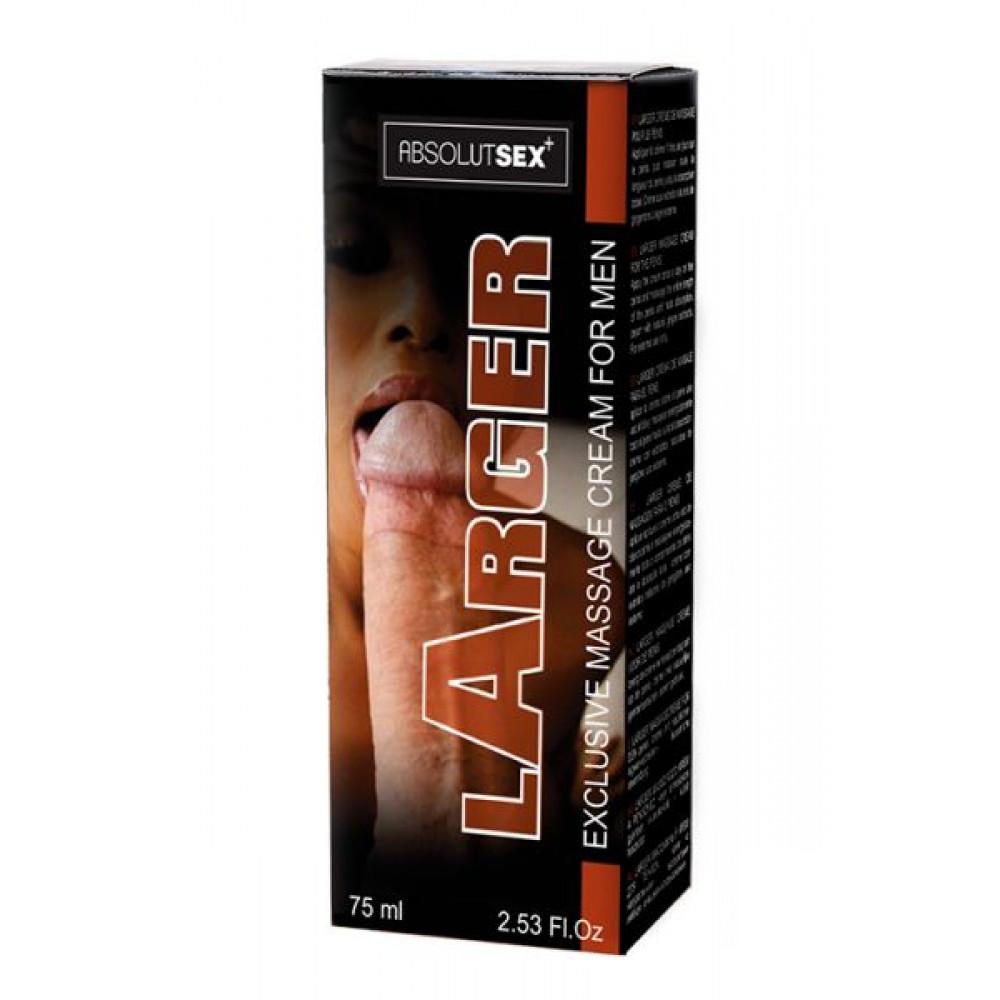 Мужские возбудители - Крем для увеличения пениса Ruf LARGER, 75 мл 1